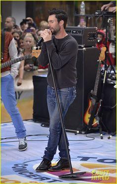 Adam Levine & Maroon 5: 'Today' Performances - Watch Now! | adam levine maroon 5 today show performance 01 - Photo