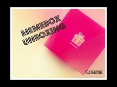 Είδατε το νέο video? Memebox Unboxing:Chocolate Mania & Cinderella