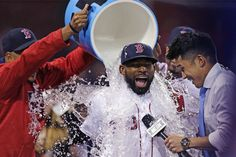 Boston Red Sox's Jackie Bradley Jr. is on such an incredible hot streak right now that he has even better statistics than 2014 American League MVP Mike Trout.