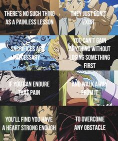 Fullmetal Alchemist: Brotherhood. An amazing story that teaches an amazing lesson. true watch it