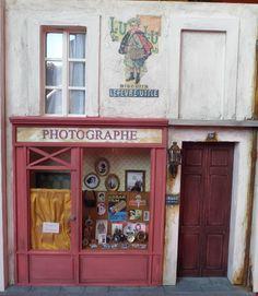 Boutique miniature Le Photographe 1/12ème. Les Miniatures de Mathilde