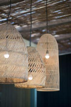 Ibiza homes: Casa Valentina – Effortless bohème Ibiza Style Interior, Style Ibiza, Interior Styling, Interior Decorating, Interior Design, Bamboo Light, Bamboo Lamp, Outside Lamps, Balinese Decor