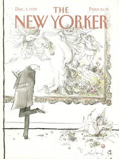 The New Yorker - Monday, December 5, 1988 - Issue # 3329 - Vol. 64 - N° 42 - Cover by : Ronald Searle