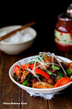 Twice Cooked Pork–Szechuan Pork Stir Fry – China Sichuan Food