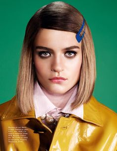 naomi glamour3 Rintje van Witjck is First Class for Naomi Yangs Glamour France Shoot