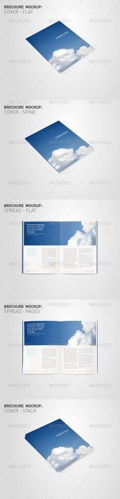 Brochure Mockup Visuals - Brochures Print - $8