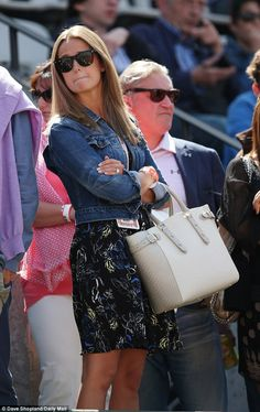 Kim Sears @ French Open 2015