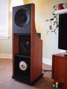 GR Research V1 -- Open Baffle Speakers w/ servo subs.