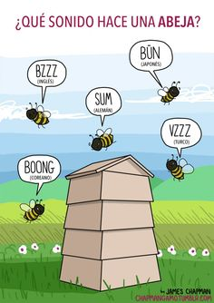 ¿Qué sonido hace una abeja?