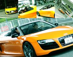 """Audi has adopted shinji Kagawa as the symbol of Audi's business spirits Challenge !!   info source[ « GQ JAPAN!]"