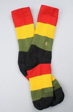 Stance Socks The Maytal Sock in Rasta Sock,Socks for Men
