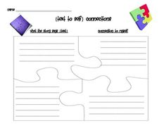 Making Connections... Text to Self Connections Teaching Tips, Teaching Reading, Guided Reading, Close Reading, Text To Text Connections, Making Connections, Comprehension Strategies, Reading Strategies, Text To Self Connection