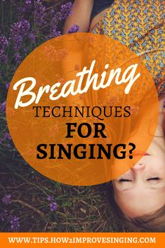 Learn how to breathe efficiently for singing and sing with ease and confidence. #learntosingtips