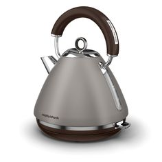 Special Edition colours on our Accents traditional kettles for our 80th anniversary. Pebble is a delicate gray, that brings a touch of earthiness that's easy on the eyes. Traditional Kettles, Small Appliances, Kitchen Appliances, Retro, Color, Debenhams, Delicate, Blues, Electric Kettles