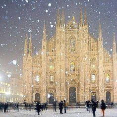 Milan, Italy.  So beautiful!