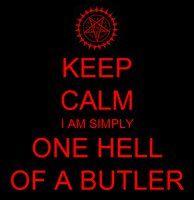 Keep Calm Black Butler by DancingBlackR