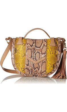 BCBGeneration Lucky You SHLDR Shoulder Bag, Dark Nude Multi, One Size Best Price