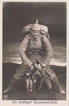 Artista desconocido, A Collision potente de 1910, el Museo Metropolitano de Arte.