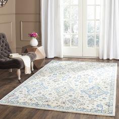Shop for Safavieh Evoke Ivory/ Light Blue Rug (11' x 15'). Get free delivery at Overstock.com - Your Online Home Decor Destination! Get 5% in…