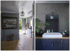 Hjemme hos Halvor Bakke   Bohus Simple Living, Modern Rustic, Chrome, Mirror, House, Furniture, Home Decor, Interiors, Spaces