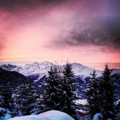 verbier sunrise