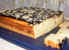 Cake Recipes, Dessert Recipes, Cream Cheese Desserts, Breakfast Menu, Polish Recipes, Chocolate Cheesecake, Food Cakes, Sweet Desserts, Food And Drink