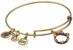 Authentic Alex And Ani Queen's Crown Charm Bangle Bracelet, A09EB134R