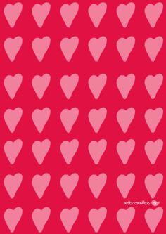 Des jolis papiers cadeaux pour la Saint-valentin ! par petits-canaillous.fr Be My Valentine, Ice Tray, Silicone Molds, Diy, Valentines Day Treats, Wrapping Papers, Pretty, Bricolage, Handyman Projects