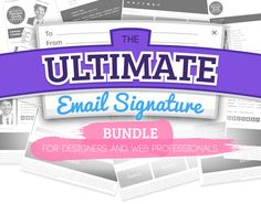 Ultimate Email Signature Bundle