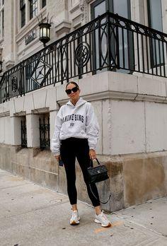 School Drop-off | Brooklyn Blonde Drop Off, Brooklyn Blonde, Oversized Blazer, Hoodies, Sweatshirts, Everyday Fashion, Fall Outfits, Normcore, School