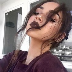 girl, makeup, and maggie lindemann εικόνα