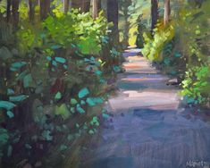 Carol Marine's Painting a Day: The Path