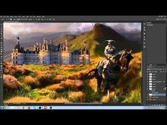 Speed paint - Barbarian, fantasy photo manipulation