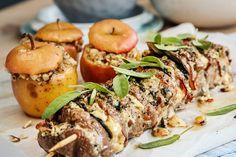 m/blåmuggost, bacon mm Food Styling, Mozzarella, Pesto, Bacon, Pork, Food And Drink, Snacks, Dinner, Recipes
