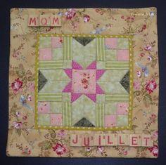 Mini Quilt Mystère de juillet - Verveine et Lin