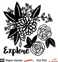 Explore Creekside-Free Cut File