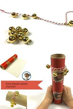Musikinstrumente selber basteln. Hier könnt Ihr lernen wie man eine Rassel selber herstellt! Einfach und schnell. 4 Kids, Diy For Kids, Crafts For Kids, Children, Music Instruments Diy, Diy And Crafts, Jewelry, Smartphone, Crochet