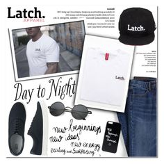 """""""Union Tee!3"""" by latch-apparel-co ❤ liked on Polyvore featuring Lands' End, Uniqlo, Polaroid, men's fashion and menswear"""