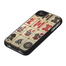 Mahjong Tiles Case For The iPhone 4