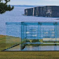You Wont Want To Throw Stones From This House of Glass #design #architecture #water