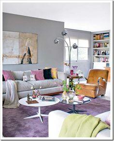Pasztell és krém nappali
