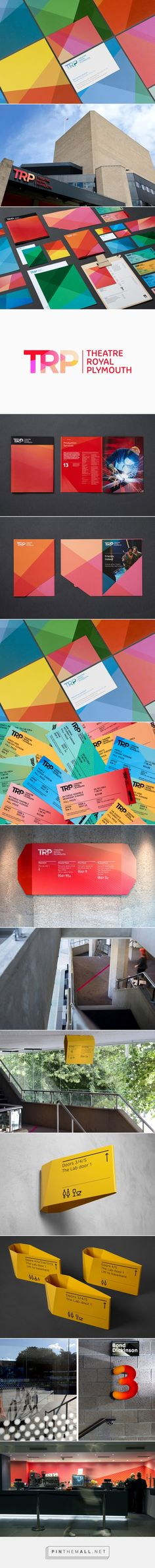 New Logo for Theatre Royal Plymouth by Spy — BP&O... - a grouped images picture - Pin Them All