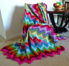 Ravelry: Grannie Ripple pattern by Elizabeth Ham This is a link to ravelry and free pattern!..Kerry w