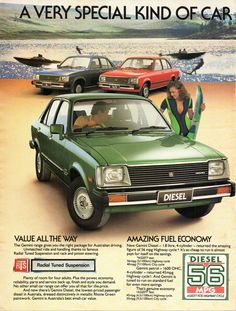 https://flic.kr/p/22NrKoQ | 1981 TE Holden Gemini Diesel & Range Page 1 Aussie Original Magazine Advertisement
