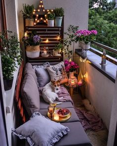 40 inspiring garden furniture ideas with small balcony for small apartments 40 # apartment