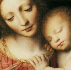 The Christ Child Asleep