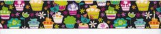 Grosgrain CUPCAKE Ribbon  15 Wide  Style 3 by countrycroppers, $1.49
