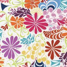 Robert Kaufman Ashton Road Flannel Multi Modern Flower