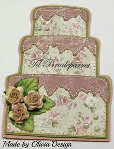 Olivias Loveletters: Donna skabeloner i brug.....håndsyede kort...