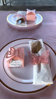 Girl baby shower Butterfly themed Pink